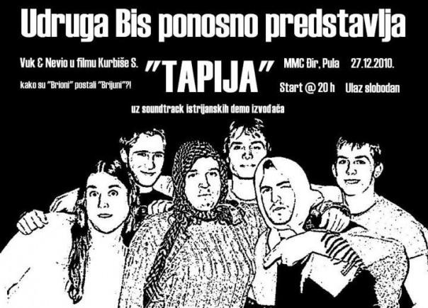 Tapija - plakat